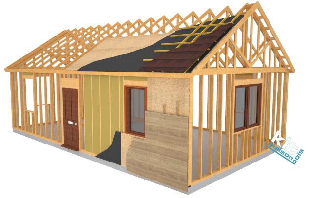 Maison Ossature Bois Kit : Innovation technique dans la construction ossature bois KitMaisonBois