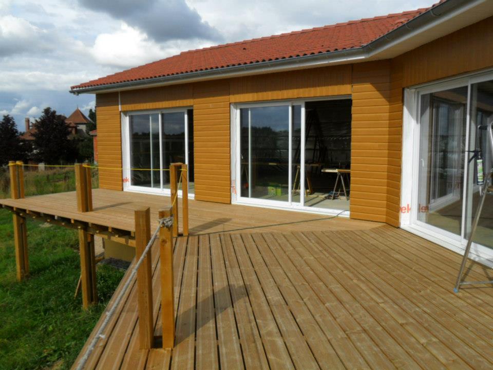 Maison Ossature Bois Autoconstruction : Fran?ais font de plus en plus confiance aux maisons en ossature bois