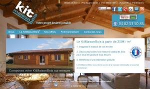 Nouveau Site Internet KitMaisonBois 2013