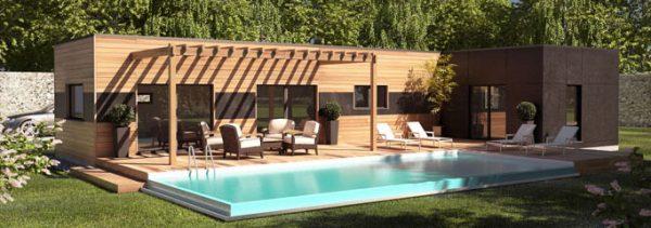 Belle maison bois par kitmaisonbois les 10 plus belles maisons bois - Maisons contemporaines en bois ...