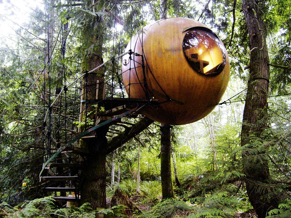 Cabanes En Bois & Dans Les Arbres ⋆ KitMaisonBois ⋆ Kit Ossature Bois