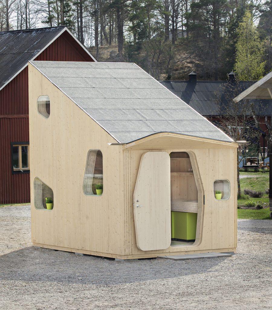 Maison Ossature Bois Suede etudiants : des mini-maisons (tiny house) en bois pour les